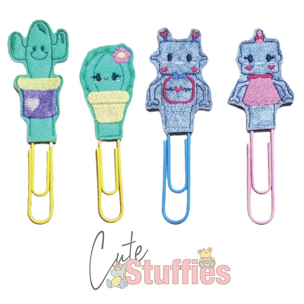 Bookmarks Handmade Products - Cute Stuffies