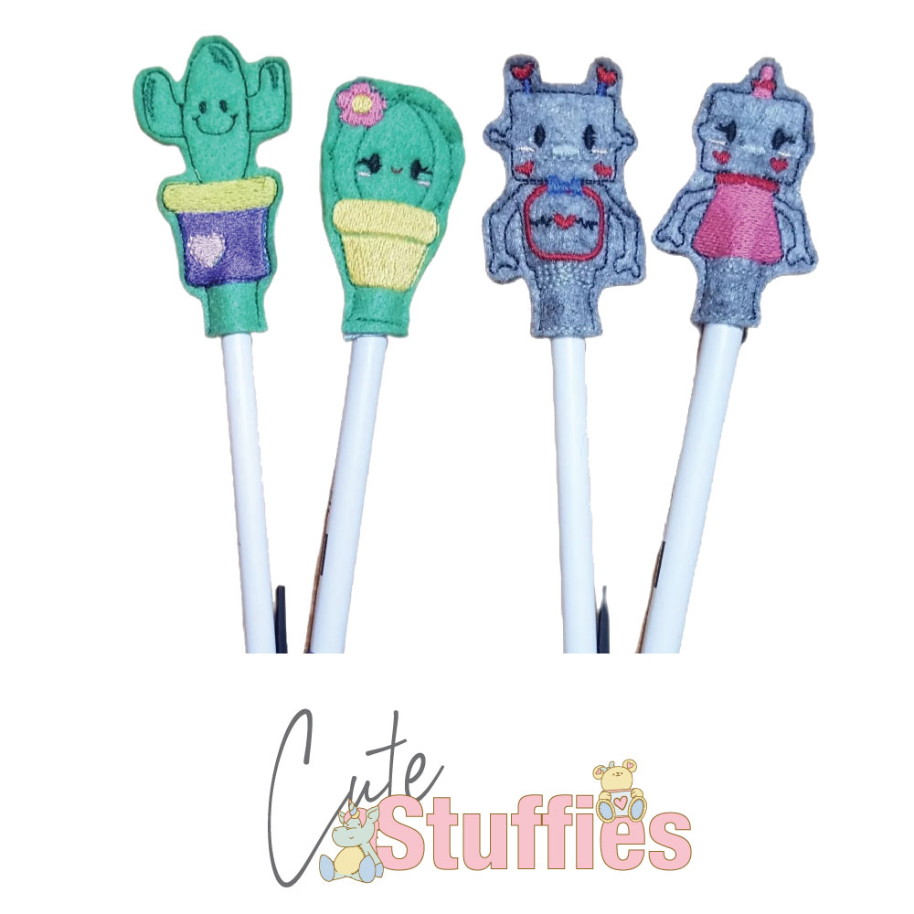 Pencil Toppers Handmade Products - Cute Stuffies